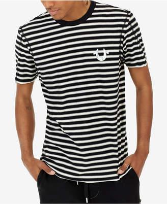 True Religion Men's Striped T-Shirt