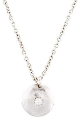 Mizuki 14K Diamond Pendant Necklace