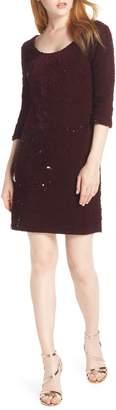 BB Dakota Sequined Velvet Dress