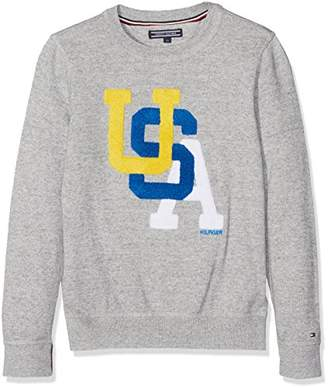 ... Tommy Hilfiger Boy s AME Towelling CN Sweater LS Jumper,(Manufacturer  Size  ... 9046e5f7e81b