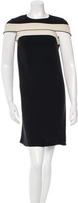 Stella McCartney Colorblock Mini Dress