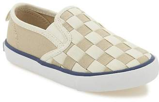 Old Navy Woven-Canvas Slip-On Sneakers For Toddler