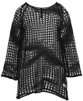 Gareth Pugh Open-Knit Sweater