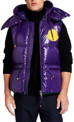 Moncler Men's Lorent Double-Hood Puffer Vest