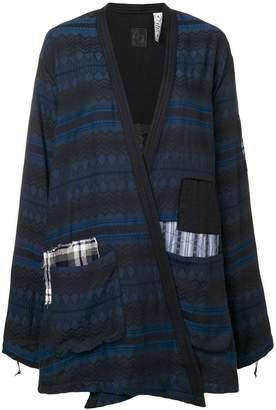 Alchemist patchwork crossover jacket