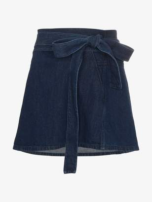 J.W.Anderson denim mini skirt