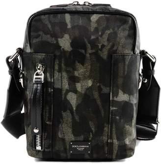 Dolce & Gabbana Camouflage Shoulder Bag