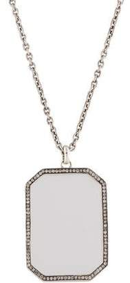 Ippolita Diamond Stella Frame Pendant Necklace