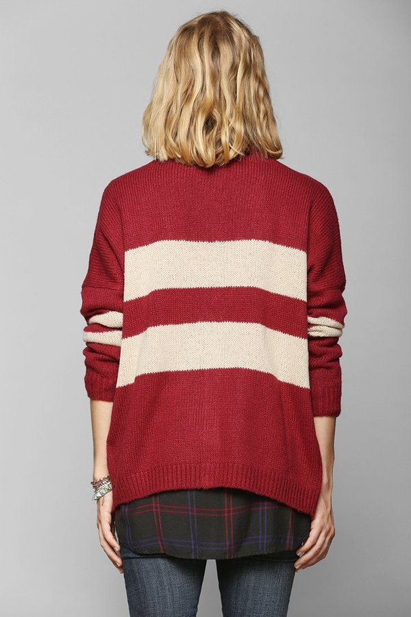 Urban Outfitters Coincidence & Chance Varsity Stripe Cardigan