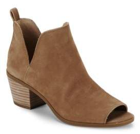 Barren Peep Toe Booties $129 thestylecure.com
