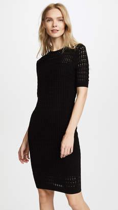 Alexander Wang Lace Short Sleeve Dress