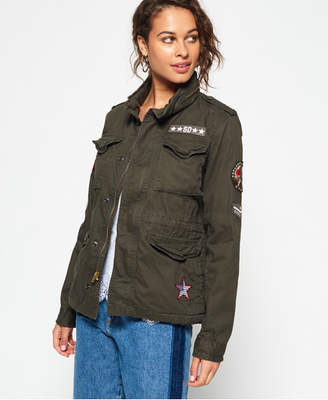 e87010b7776 Superdry Military Jacket - ShopStyle UK