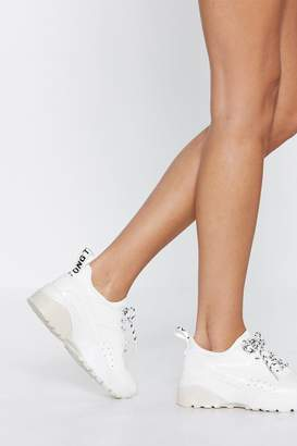Nasty Gal Run With It Chunky Sneaker