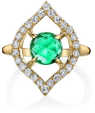 Ark Emerald Small Nectar Ring