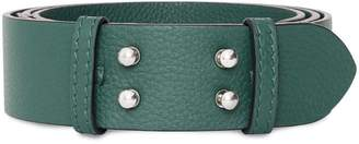 Burberry push stud belt