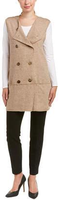 Sara Campbell Wool-Blend Vest