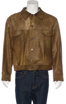 Gucci Ponyhair Trucker Jacket