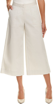Lafayette 148 New York Cropped Kenmare Flare Pant