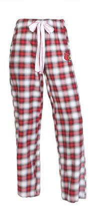 Concepts Sport Women's Louisville Cardinals Forge Flannel Pants