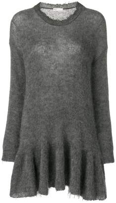 RED Valentino sheer knit sweater