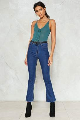 Nasty Gal Flare Your Soul Skinny Jeans
