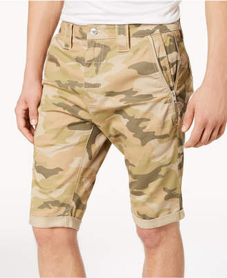 GUESS Men's Carter Stretch Twill Camo Shorts