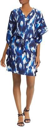 Lauren Ralph Lauren Ikat-Print Flutter Dress