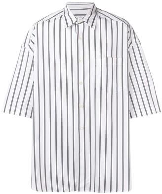 Ami Paris ショートスリーブ オーバーサイズ シャツ