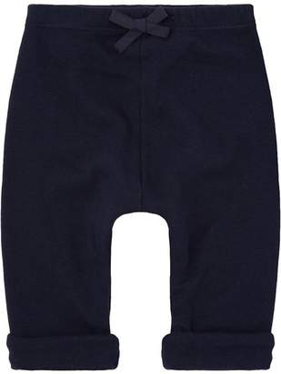 Petit Bateau Roll Up Cotton Trousers