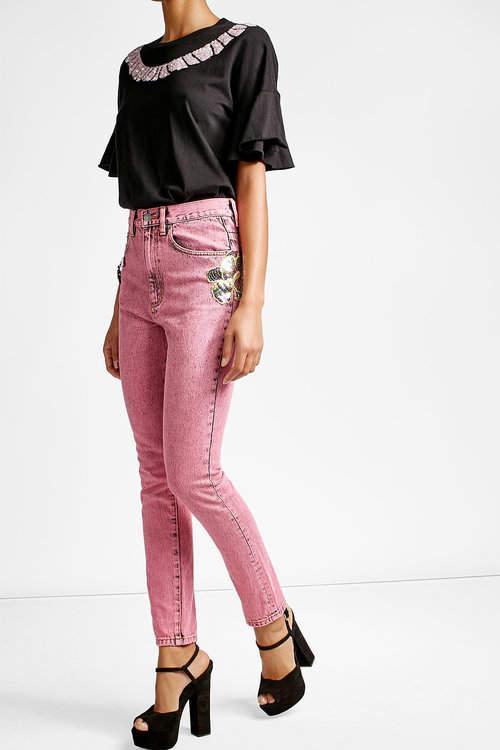 Marc JacobsMarc Jacobs Embellished Skinny Jeans