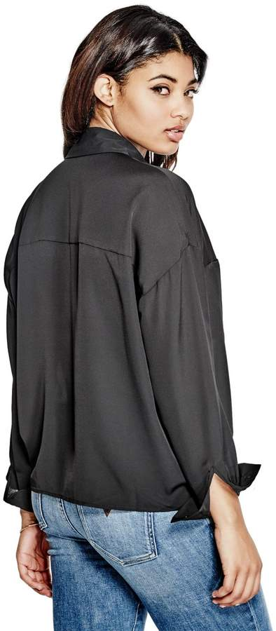 GUESS Women's Anson Oversized Shirt