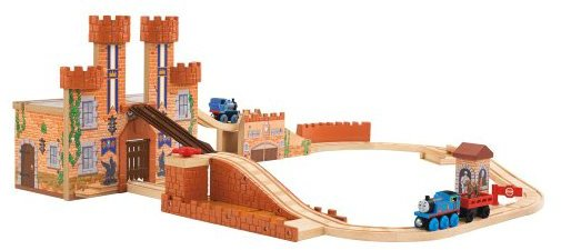 Fisher-Price Thomas & Friends Wooden Railway King Of The Castle Playset