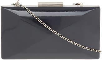 Patent Hardcase Clutch Bag