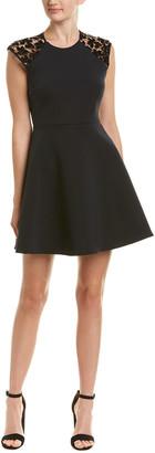Maje Lace A-Line Dress