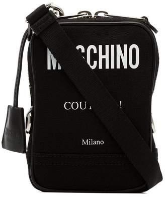 Moschino printed logo crossbody bag