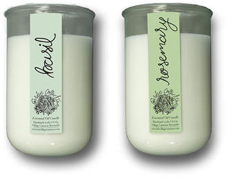 Garden Collection Village Common Essential Oil Candle & Organic Seed Pack (Set of 2)