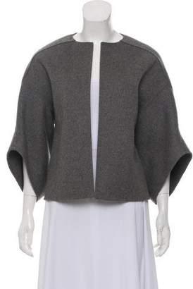 Michael Kors Virgin Wool Short Sleeve Jacket