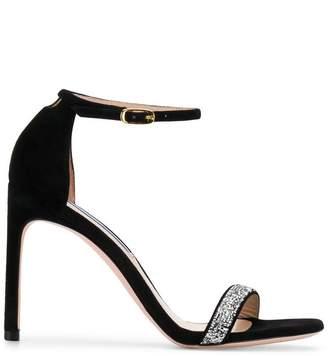 Stuart Weitzman embellished strappy sandals