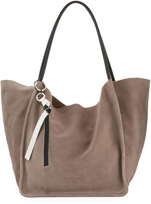 Proenza Schouler Extra Large Light Suede Tote Bag