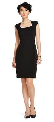 Merona® Women's Bi-Stretch Twill Wrap Sheath Dress - MeronaTM $29.99 thestylecure.com