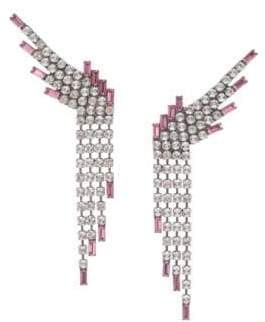 Dannijo Reina Fringe Drop Earrings