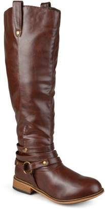 cd6343d7c9c8 Brinley Co. Brinely Co. Women s Mid-calf Wide Calf Riding Boots