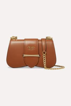 Prada Sidonie Medium Leather Shoulder Bag - Brown