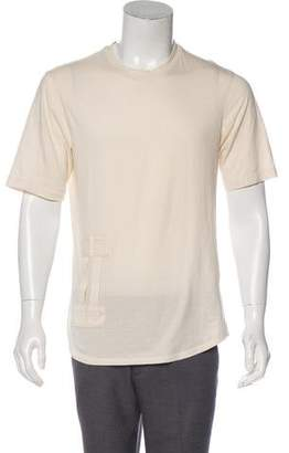 Helmut Lang Dual Strap-Accented T-Shirt