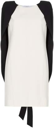 Givenchy cape detail mini dress