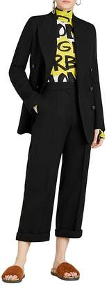 Burberry Patterdale Wool & Silk Blazer