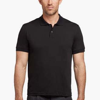 James Perse COTTON CASHMERE JERSEY POLO