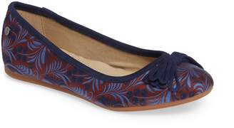Hush Puppies R) Heather Bow Ballet Flat
