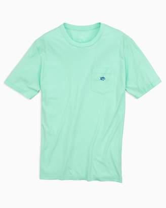 DAY Birger et Mikkelsen Southern Tide Embroidered Outline Skipjack Pocket T-shirt