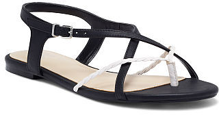 Victoria's Secret Collection Braided Colorblock Flat